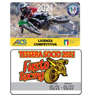 Licenza Competitiva AICS + Associazione Fusto Racing