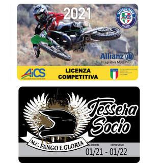 Licenza Competitiva AICS + Associazione Fango e Gloria